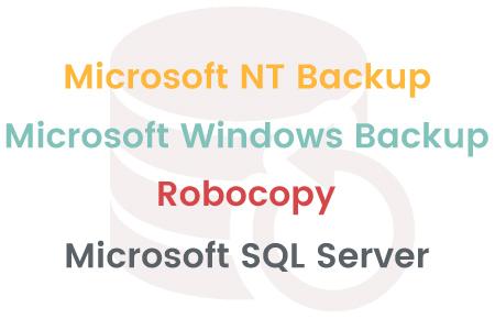 Tool to configure Microsoft backups - Trevor Utility Backup